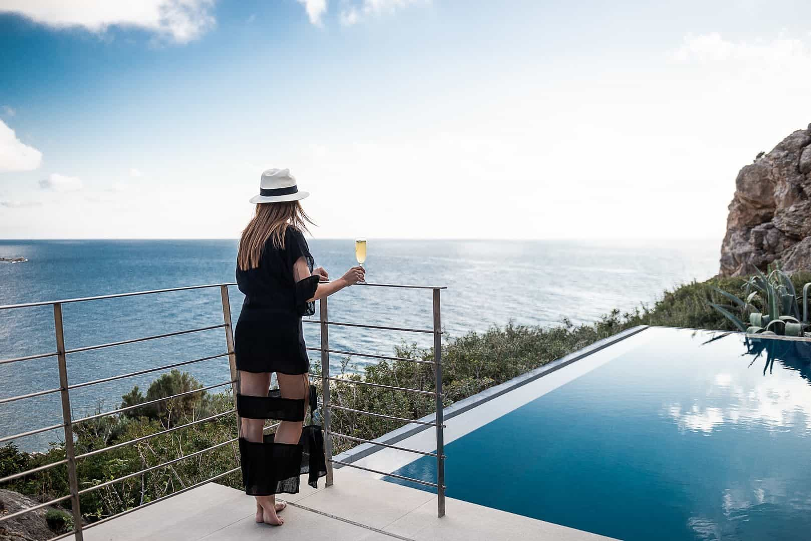By the pool – villa Neptune