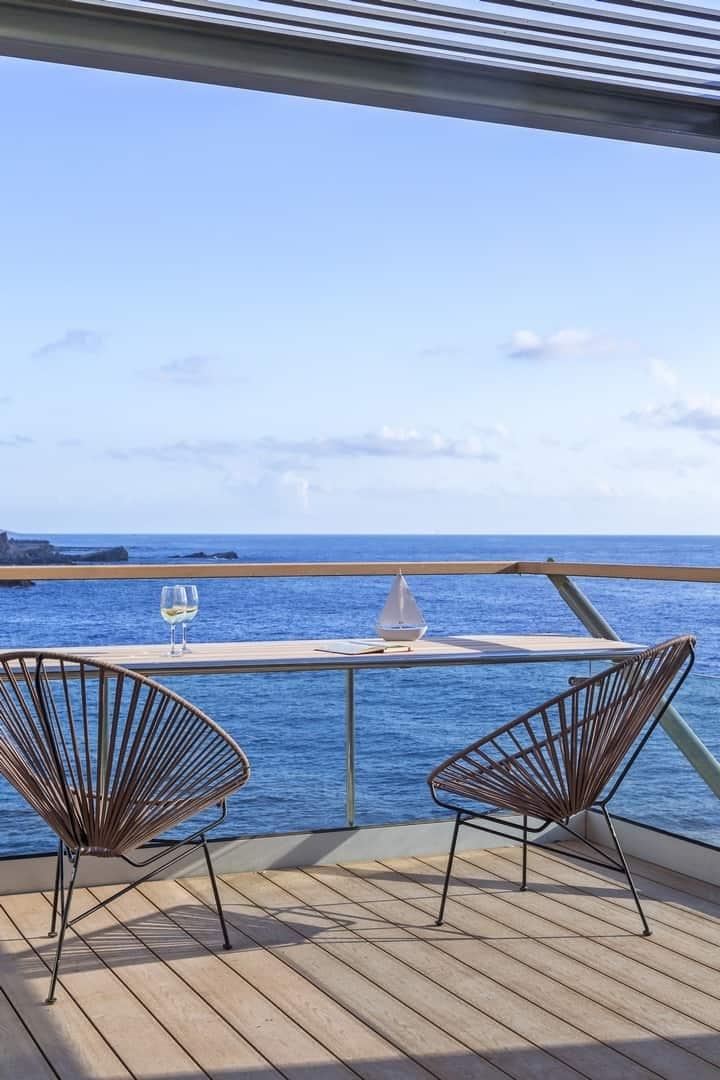 Guesthouse's terrace – villa Hermes