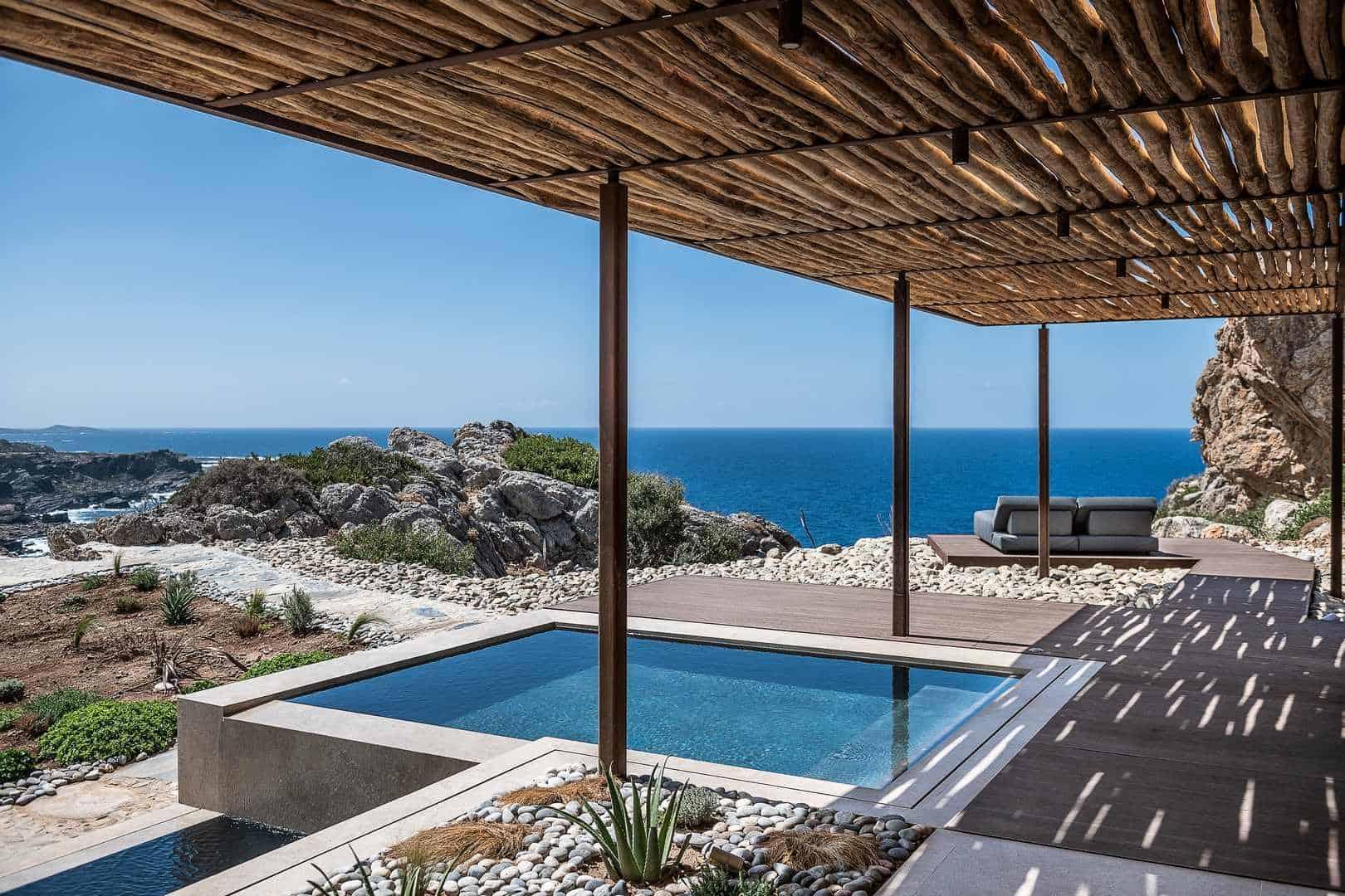 Sunbed with a view – villa San Matteo